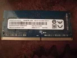 Memoria RAM SO-DIMM DDR4 4GB 260 pines