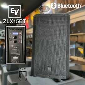 "CABINA ACTIVA DE 15"" CON BLUETOOTH 1000W / 127dB ELECTROVOICE ZLX-15BT"