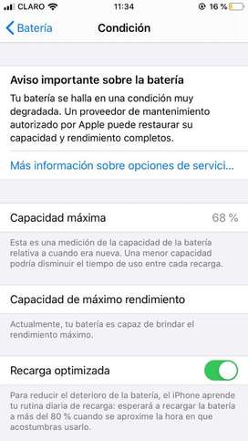 Iphone 6s 64gbs