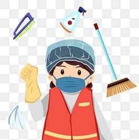 Busco trabajo de limpieza.