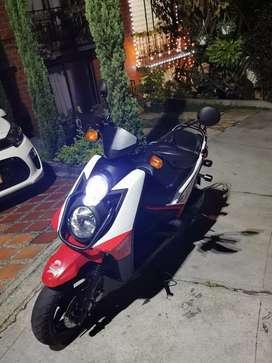Vendo moto bws at 125