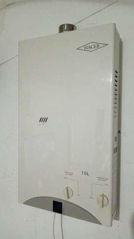 calentador de paso de 10 litros