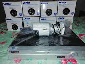 Sistema de Vigilancia  Lorex 8 Canale