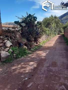 Hermoso terreno en el corazón del valle sagrado de los inkas