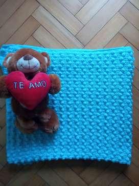Manta Crochet Cuna