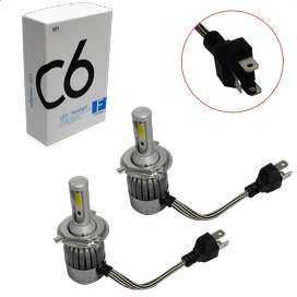 LED MARCA C6 12/24V C/COLLER 2PZ