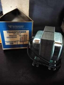 Transformador 596 EDWARS primary 120v 60hz