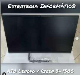 Todo en Uno Ryzen 3 Lenovo