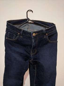 Jean semiusado talla 34 slim
