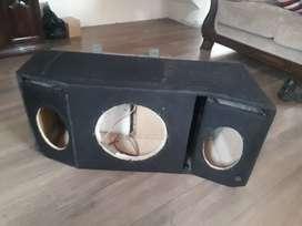 Caja para audio