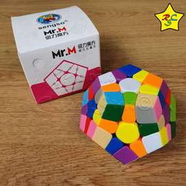 Megaminx 3x3 Mr M Shengshou Magnetico Cubo Rubik Señor M
