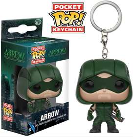 Funko Pop Dc Green Arrow Llavero Figuras Juguetes