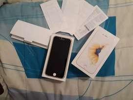 Iphone 6s con excelente resolución y estado físico 9 de 10 funcional 10 de 10