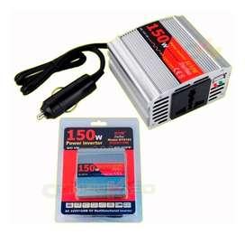 inversor de corrriente 150w,,laptop,dvd,webcam,herramienta electrica ipod,celular,