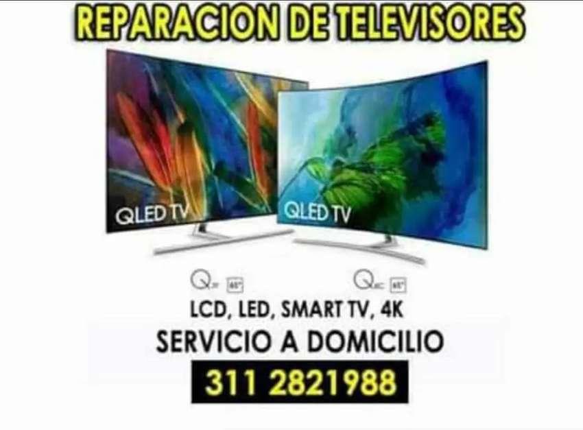 Reparamos televisores en tu casa