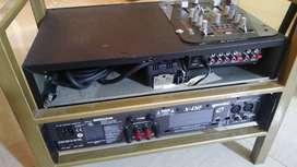 Planta Amplificador Gemini (Potencia) con Mixer Audio Pro