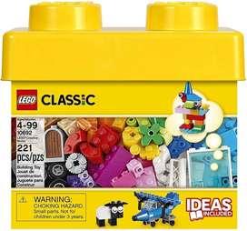 Caja Pequeña Lego Classic Nueva 221 Piezas