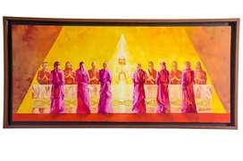 Vendo obra de arte ultima cena 1.77mts x 78cms
