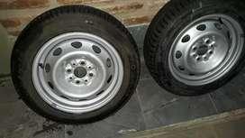Vendo ruedas 14 armadas