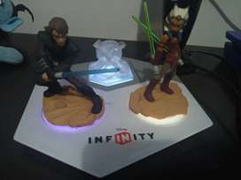 Base para ps3 Xbox 360 o wii con figuras disney infinity Star wars
