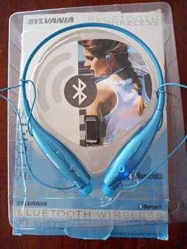 Se vende audifonos inalambricos marca sylvania estan nuevos