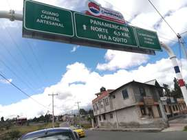 """2 LOTES DE TERRENO EN LA VÍA RIOBAMBA - GUANO 15 MIN DE LA UNACH Y PASEO SHOPPING. PARROQUIA """"EL ROSARIO"""" Cantón GUANO."""