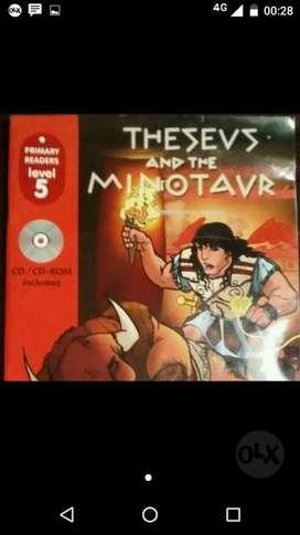 Theseus And The Minotaur. Libro Mas Cd.
