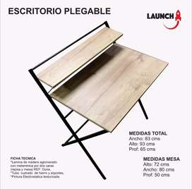 Mesa escritorio plegable