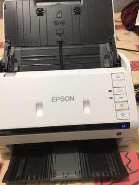Escaner Epson Workforce Ds-530 Digitalizador Dúplex 35/70
