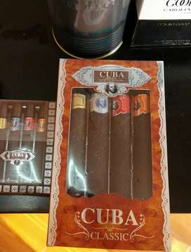 Perfumes Cuba paris pack 4unid de 30ml c/u