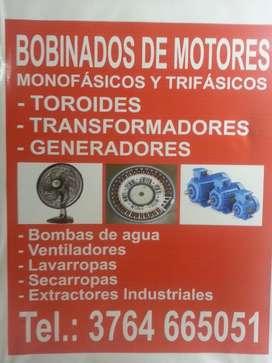 Bobinado de Motores Monofasicos Y Trifasicos