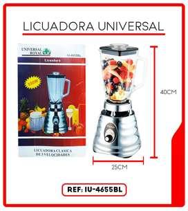 LICUADORA 3 VELOCIDADES UNIVERSAL ROYAL