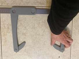 Antropometro largo para medicion de grandes diametros como biacromial o bicrestal iliaco