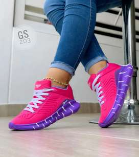 Zapato Tennis Deportivo Reebok Para Mujer