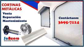 FABRIACION CORTINAS METALICAS