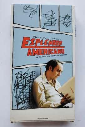 Esplendor Americano Paul Giamatti Una Vida Simple Vhs
