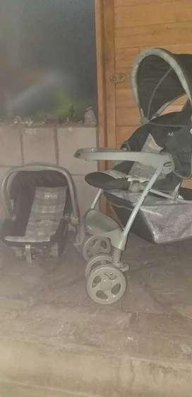 Coche y asiento de bebe