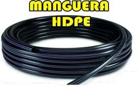 Manguera y tuberia HDPE - Fabricación y ventas a nivel nacional