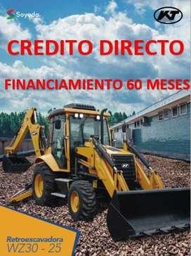 RETROEXCAVADORA MARCA KAT MODELO WZ30 -25. CREDITO DIRECTO-FINANCIAMIENTO-FACILIDADES DE PAGO