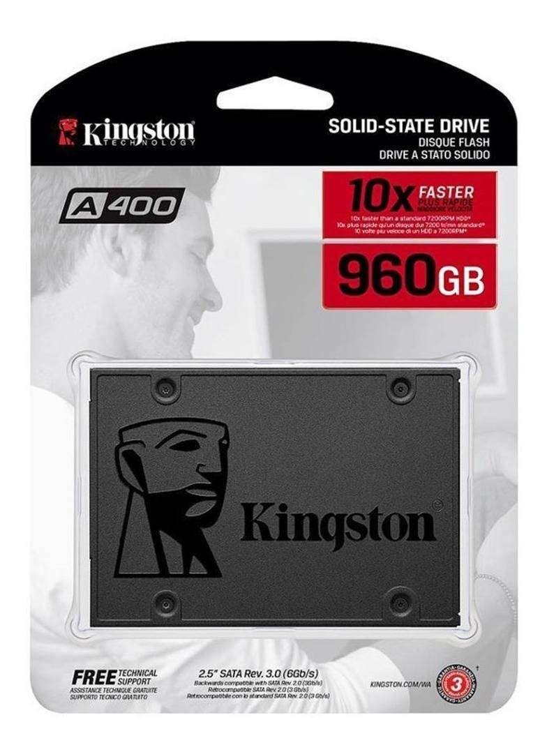 Disco Duro Estado Solido Ssd 960gb kingston 0