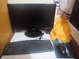 """Computadora I5 - 4Gb RAM - Monitor SAMSUNG 21"""" - Teclado + Mouse"""