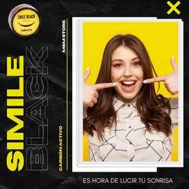 Desmancha tus dientes con Smile Black Carbón Activado