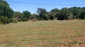 Vendo terreno en Colonia Benítez