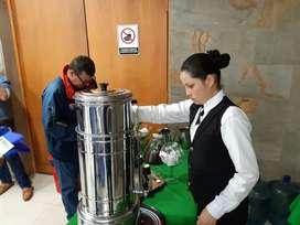 CAFE, AROMATICAS, AGUA NATURAL PARA  TUS  EVENTOS