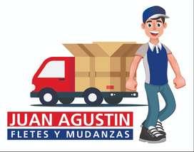Fletes y Mudanzas Juan Agustin 24 hs