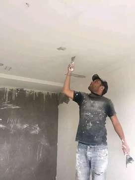 Pintor Trabajos de pintura y empaste