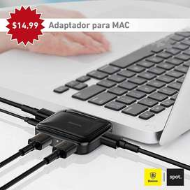Adaptador para computadoras Disponibles con puerto USB y TIPO-C️