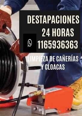 Destapaciones Lomas de Zamora