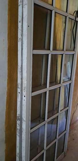 Puerta Balcón 2  Hojas  sin Marco