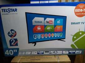 Led Telstar 40 Smart Tv Sistema Android 2 Años De Garantia
